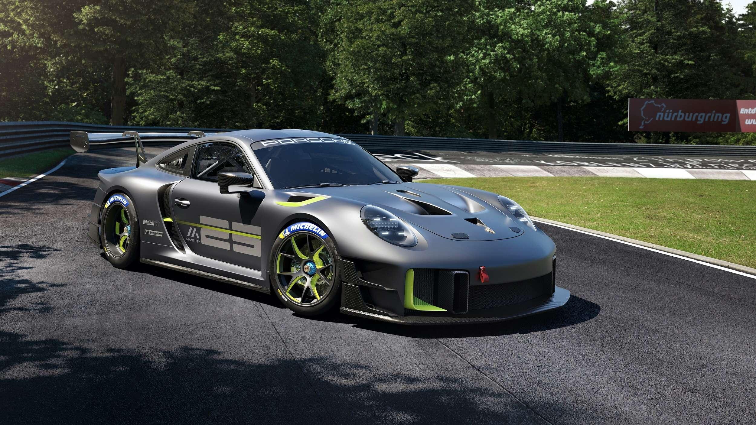 Porsche GT2 RS Clubsport 25, una bestia de circuito