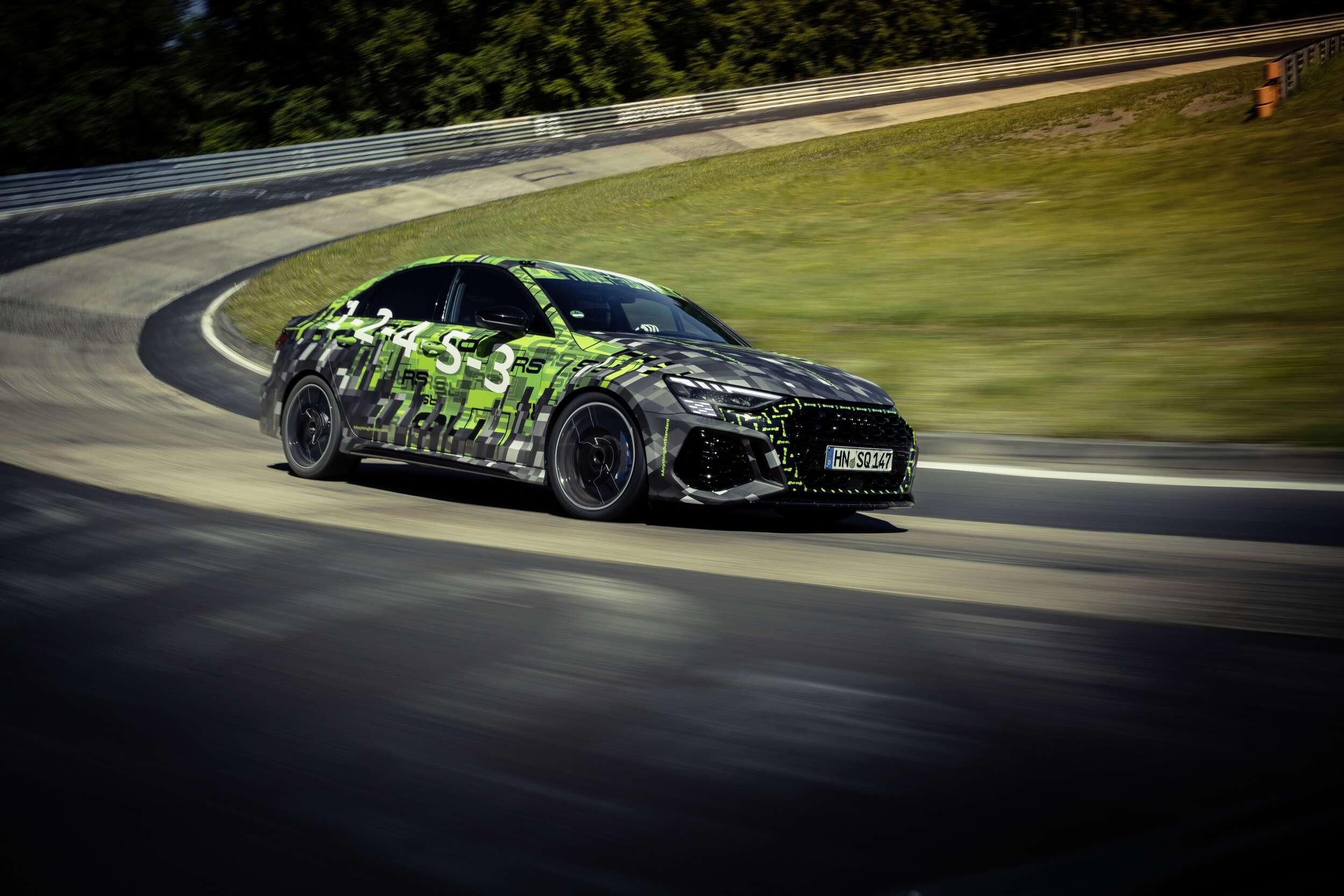 Audi RS3, nuevo récord en el Ring