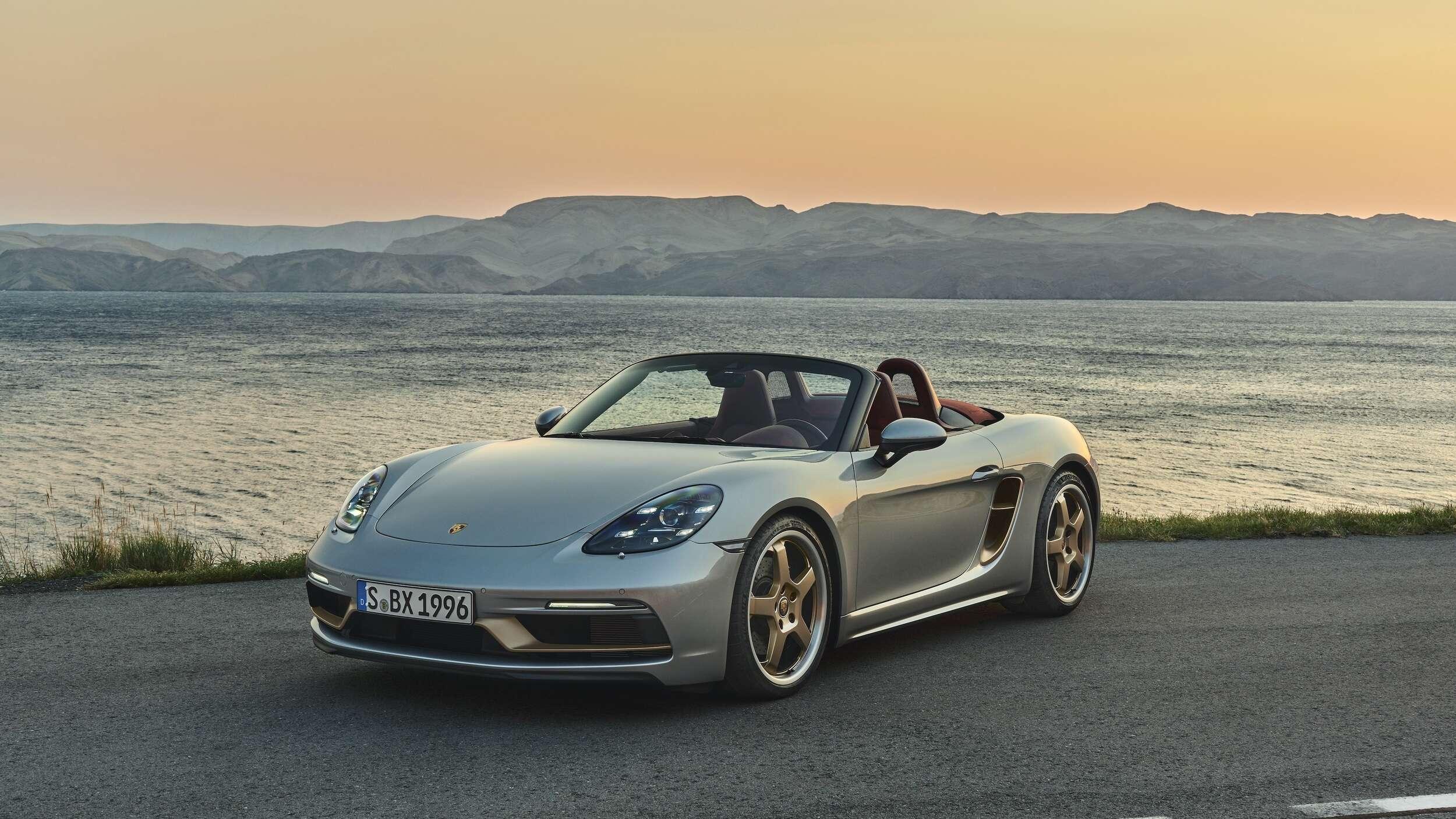 Porsche Boxster 25, las bodas de plata